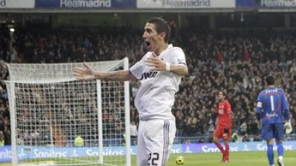 Di maria angel real madrid gool