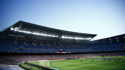 Štadión Barcelony Camp Nou.