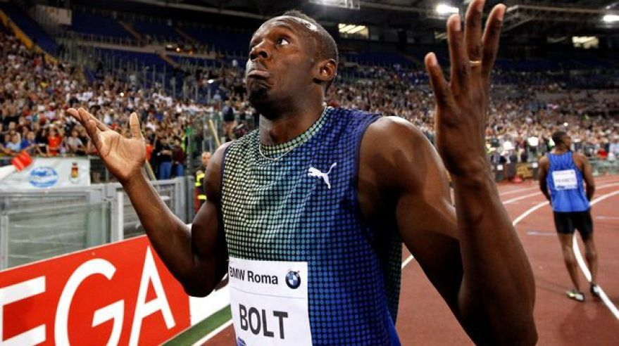 Usain bolt diamantova liga rim porazeny jun2013 reuters