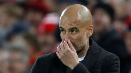 Pep Guardiola, tréner Manchestru City