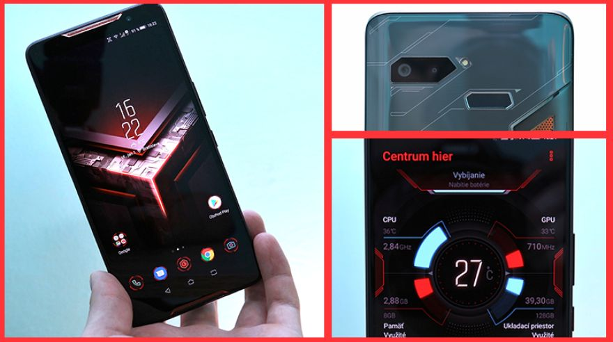 Test Asus ROG Phone