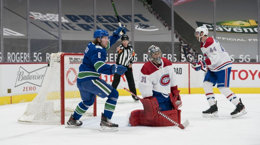 Montreal Canadiens at Vancouver Canucks
