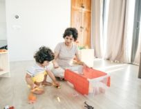 Household chores for a toddler