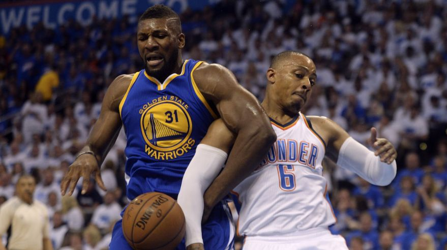 Golden State Warriors, Oklahoma City Thunder, Festus Ezeli, Randy Foye, maj16