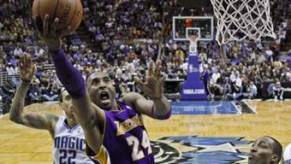 Bryant kobe lakers kos orlando magic