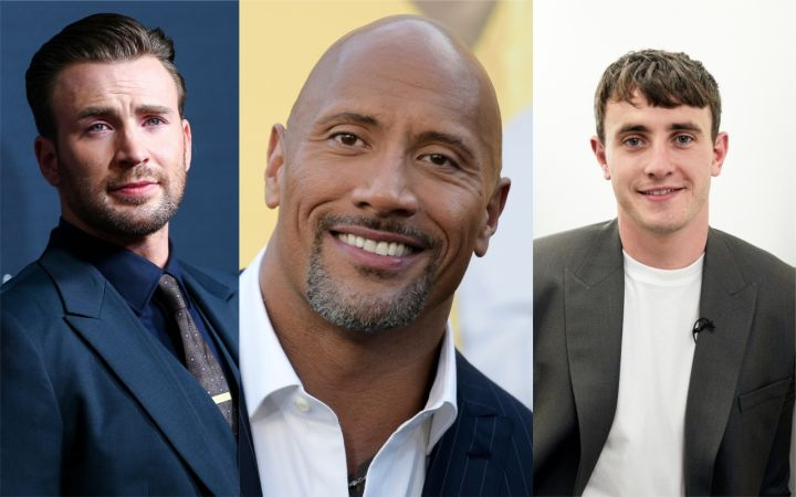 Chris Evans, Dwayne Johnson, Paul Mescal
