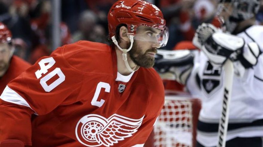 Henrik zetterberg detroit vs los angeles sita