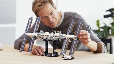 Nová stavebnica Lego Ideas International Space Station.