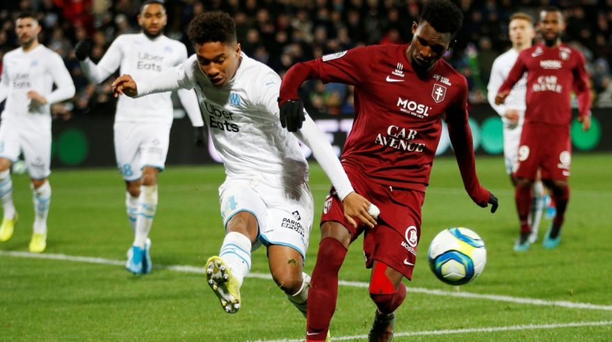 Olympique Marseille remizovali na pôde FC Metz