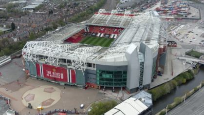 Manchester United's Old Trafford Stadium.