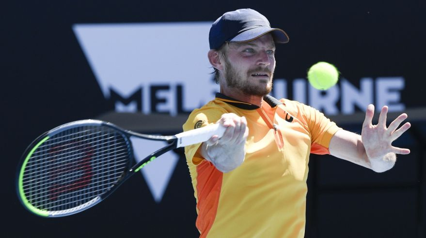 Belgický tenista David Goffin