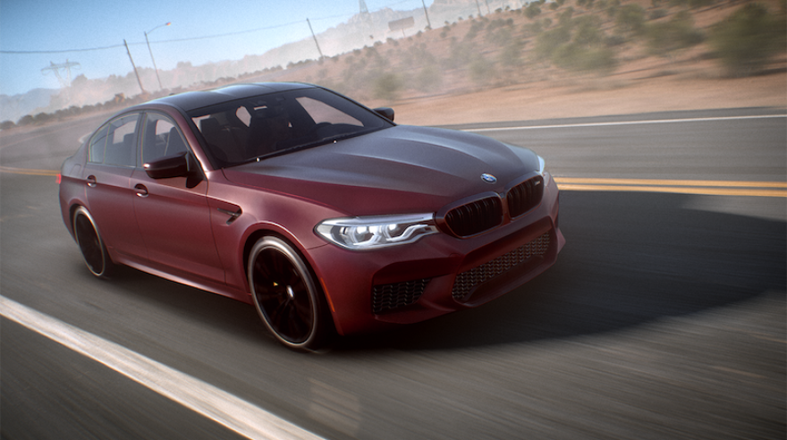 Vychutnajte si jazdu s BMW v 4K videu na Need for Speed Payback
