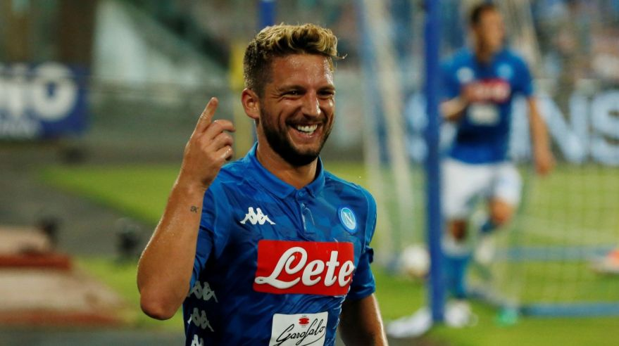 Dries Mertens z SSC Neapol