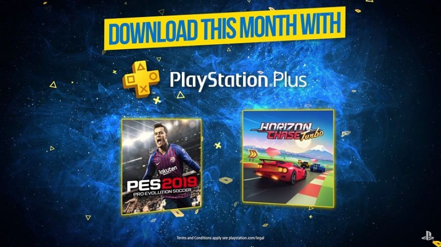 Júlovými PlayStation Plus hrami sú Pro Evolution Soccer 2019 a Horizon Chase Turbo.