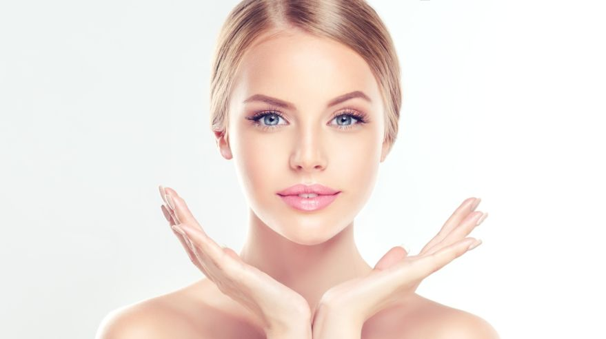 Young Woman with clean, fresh skin.