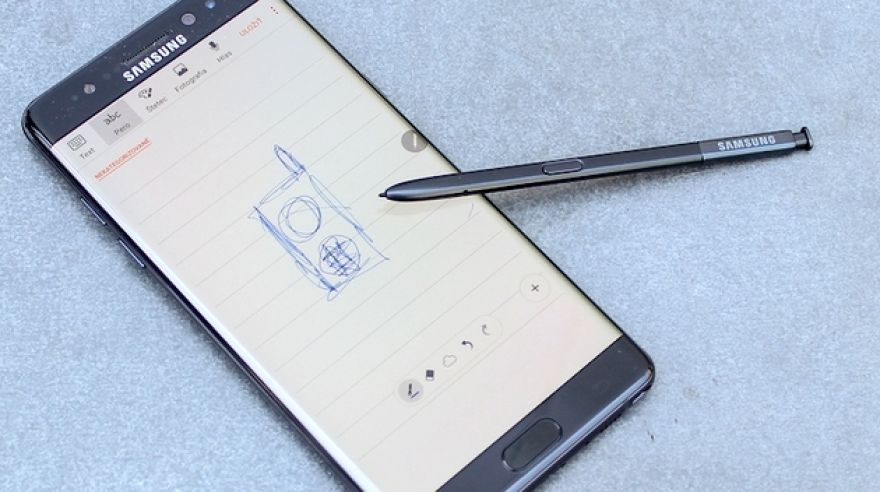 ikona Test Samsung Galaxy Note 7