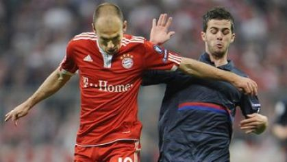 Bayern robben lyon pranjic april 2010