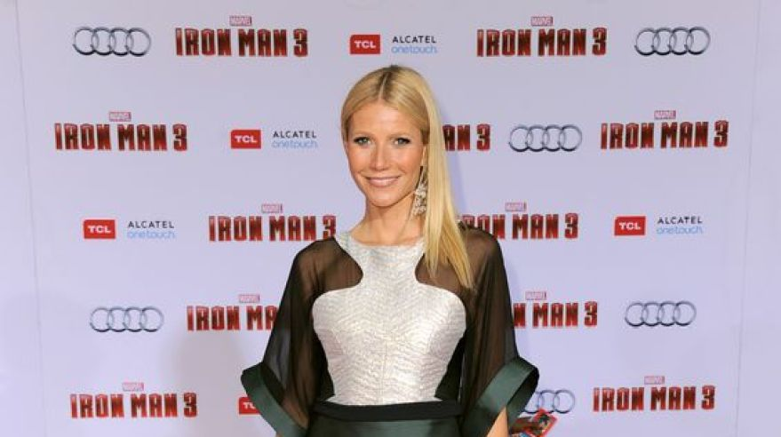 Gwyneth paltrow saty premiera iron man sita