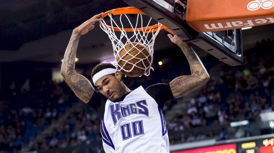 Sacramento Kings Willie Caouley Stein apr16 Reuters