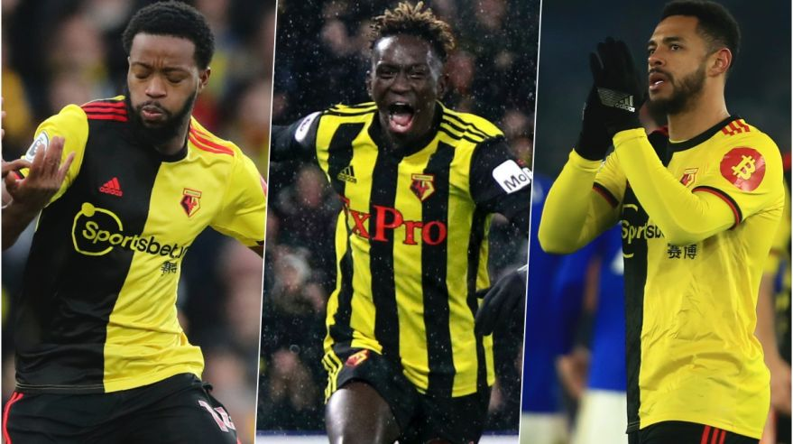 Nathaniel Chalobah, Domingos Quin a Andre Gray.