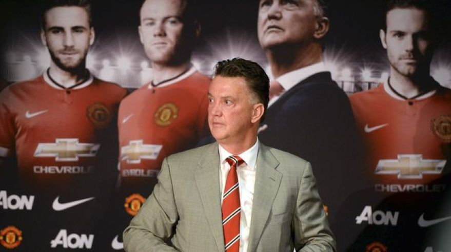 Louis van gaal privitanie v manutd jul14 reuters
