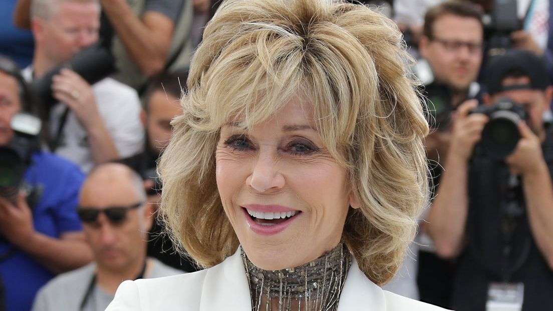 Herečka Jane Fonda