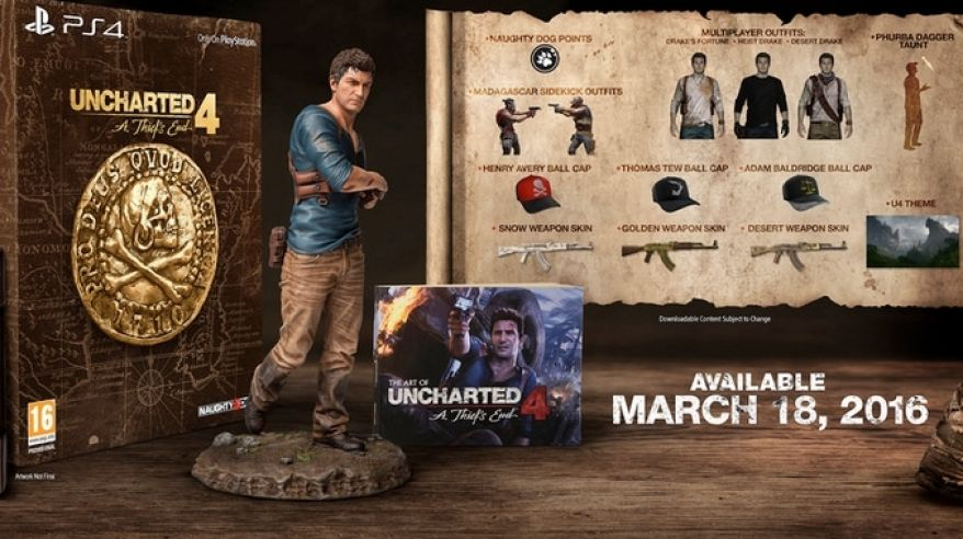 Uncharted 4 balenie
