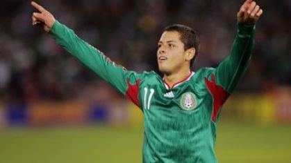 Chicharito mexiko goool ruky horeee jul2011