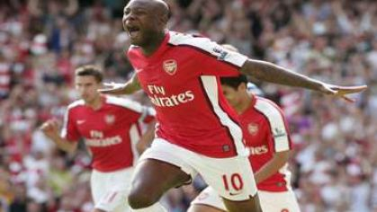 Gallas william arsenal radost gol