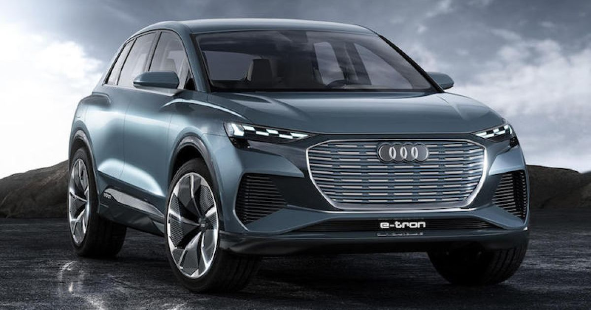 Audi Q4 E Tron Special Color And Fast Charging