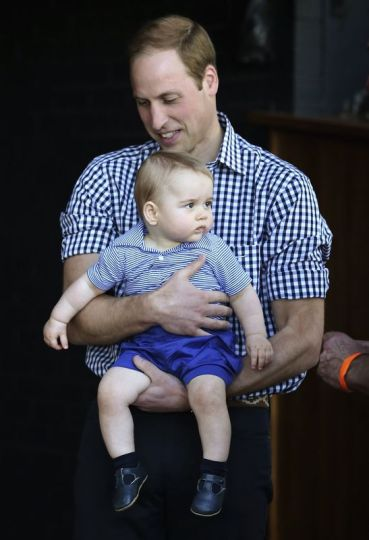 Kate middleton george william zoo australia reuters