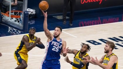 Philadelphia 76ers vs. Indiana Pacers