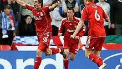 Agger carragher riise liverpool semif chelsea