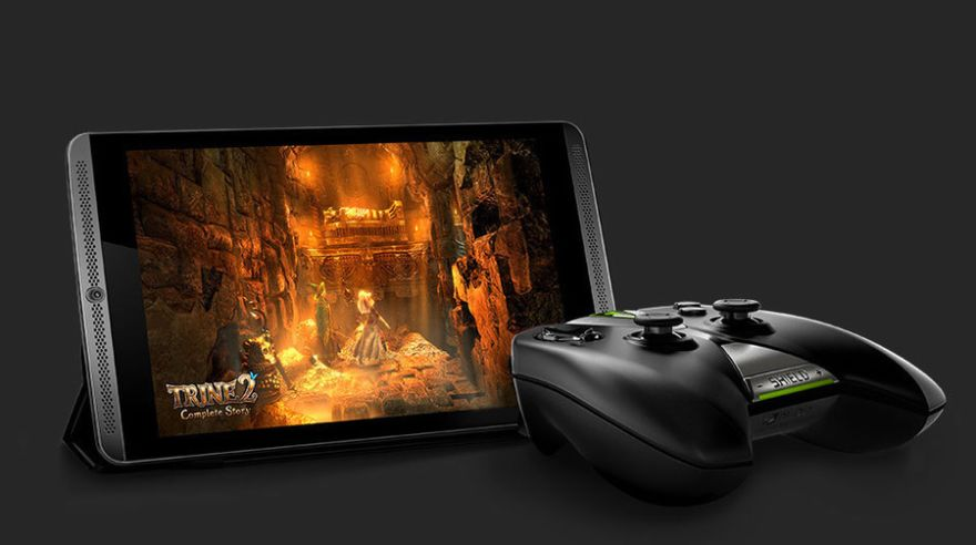Herný tablet Nvidia Shield s gamepadom