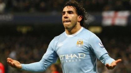 Tevez man city vs man utd gol