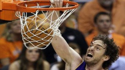 Gasol pau los angeles lakers vesia kos