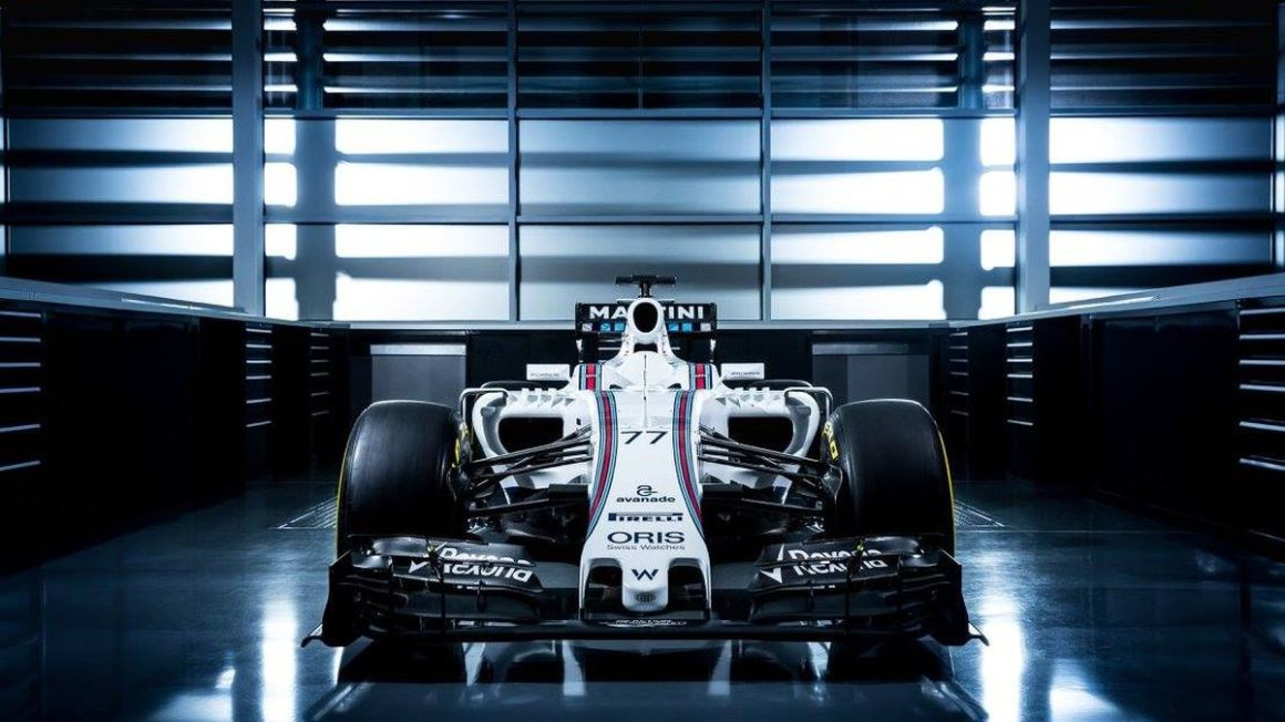 Williams FW38 predstavenie feb16 williamsmartiniracing.com