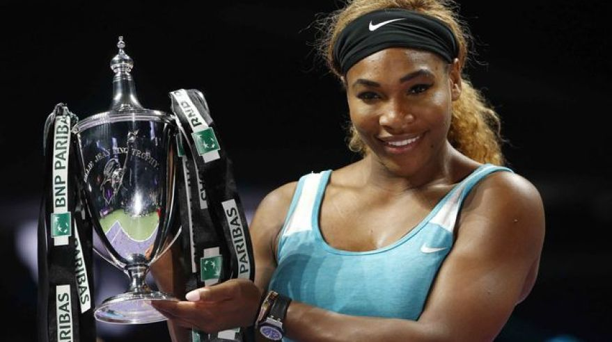 Serena Williams WTA Finals 2014 reuters