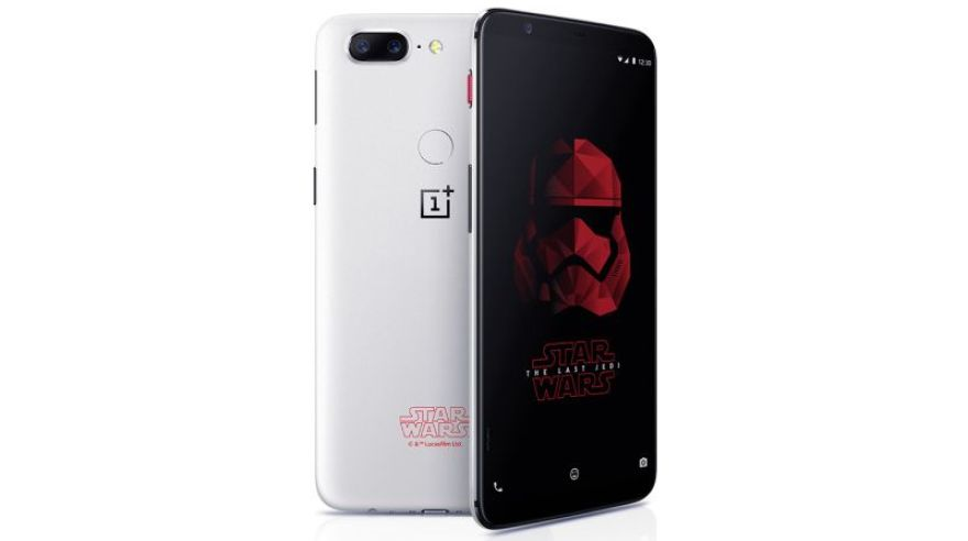 OnePlus 5T Star Wars Limited Edition.