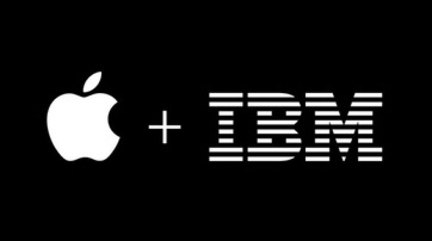 ikona Apple a IBM