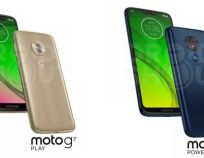 Moto G7 Play a G7 Power