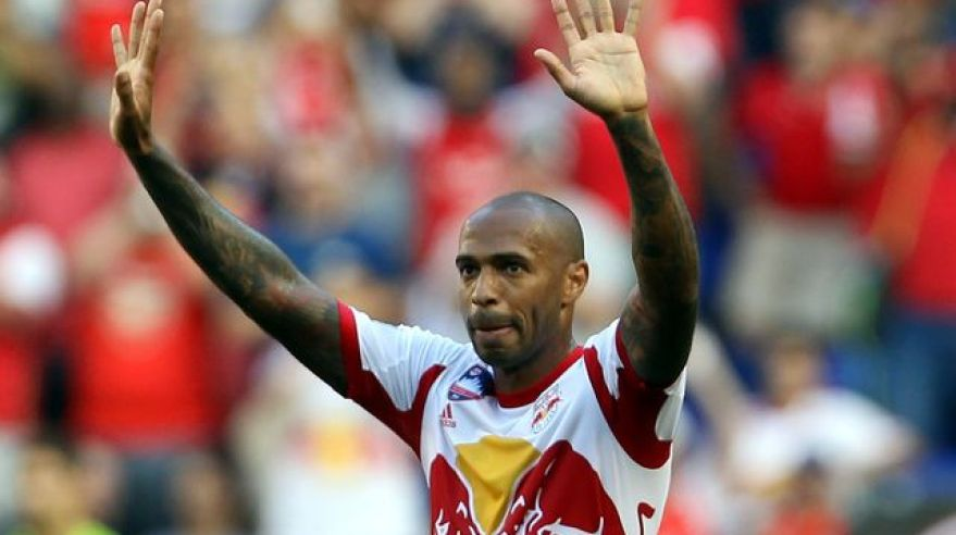 Thierry Henry futbal foto New York RB