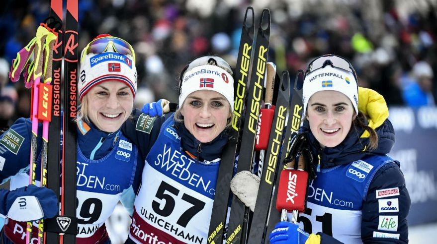 Therese Johaug v strede