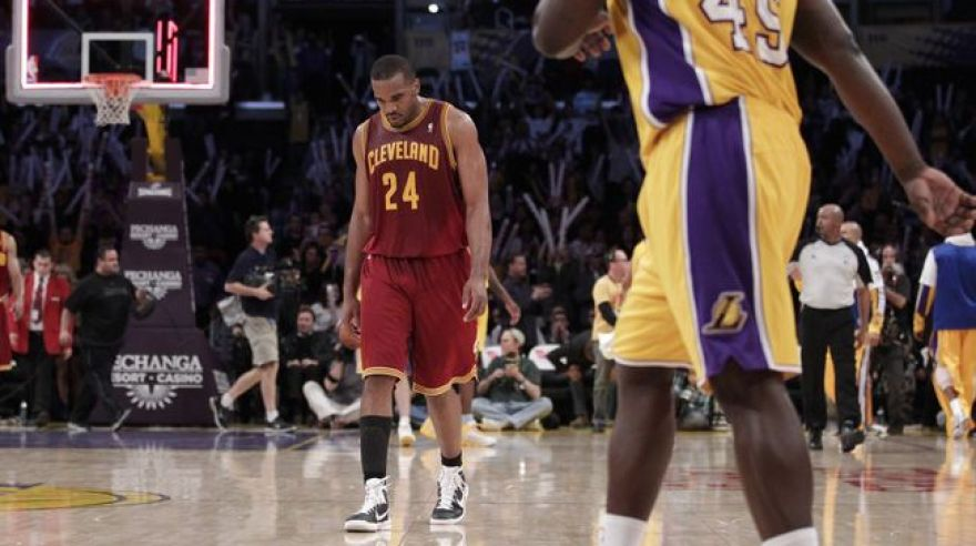 Cleveland vs lakers debakel foto dna3