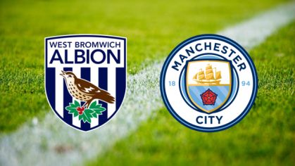 ONLINE: West Bromwich Albion - Manchester City
