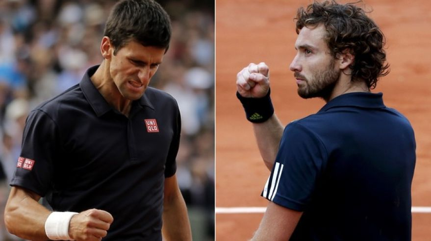 Novak djokovic mix ernests gulbis roland garros stvrtfinale jun2014 sita reuters