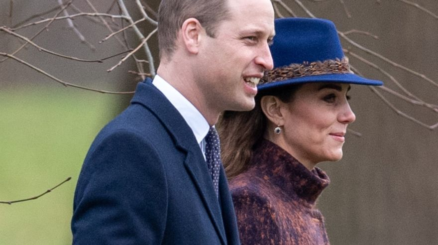 William s Kate prichádzajú na omšu do St Mary Magdalene Church v Sandringhame, v Norfolku