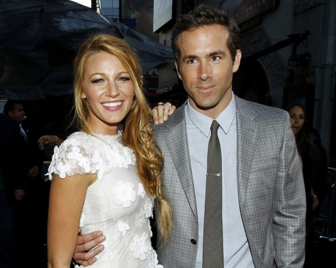 Blake Lively a Ryan Reynolds