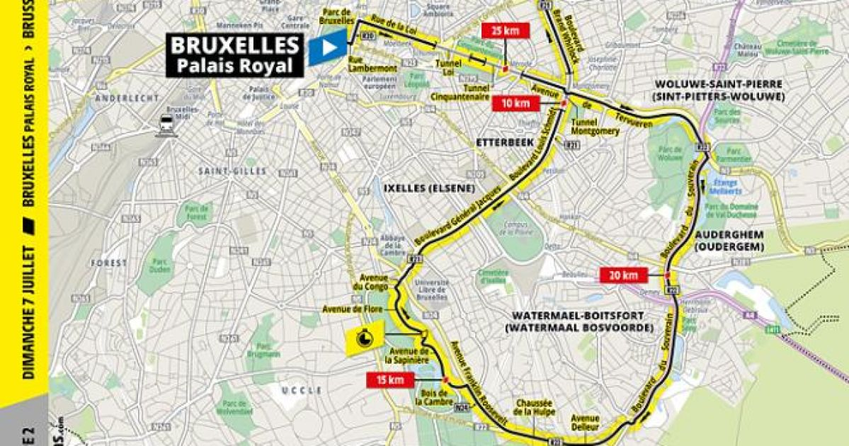 Stage 2 Of The Tour De France 2019 Map Profile And Favorites For The Match