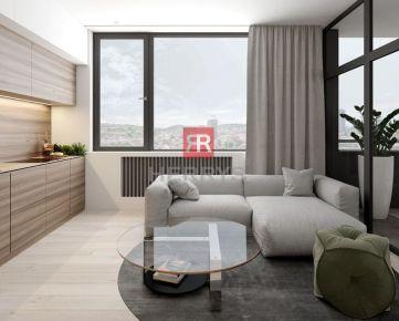 HERRYS - Na predaj 2 izbový apartmán v projekte PROXENTA Residence, bývanie v centre mesta v novostavbe vo vysokom štandarde